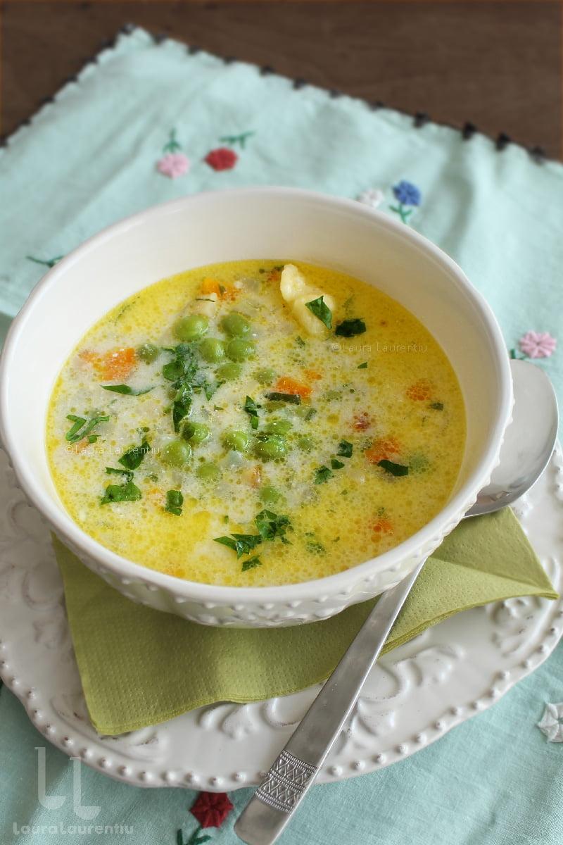 supa de mazare pas cu pas reteta detaliata supa de mazare cu galuste ca in ardeal reteta