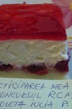 """Prajitura """"Scufita rosie"""" by violeta64"""