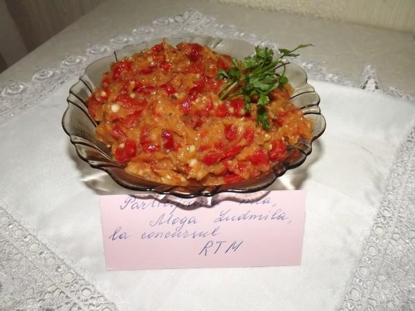 Salata de vinete cu ardei copti by Ludmila