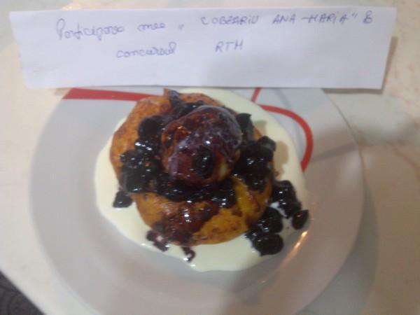 Papanasi cu dulceata si smantana by aryana