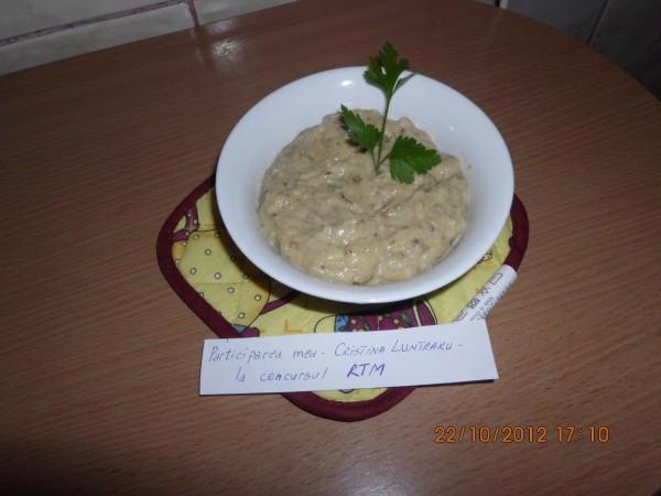 Salata de vinete romaneasca by Cristina Luntraru