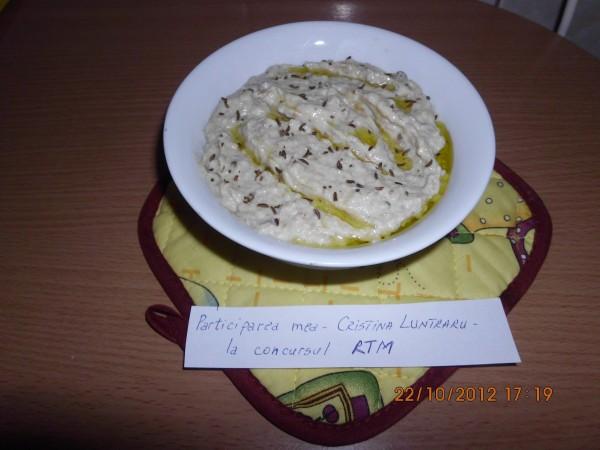 Salata de vinete Baba Ghanouj by Cristina Luntraru