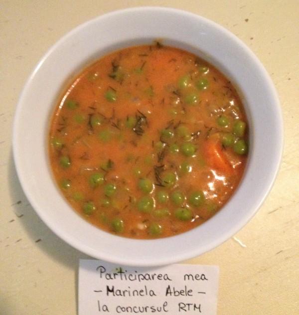 Mancare de mazare cu morcovi by Marinela Abele