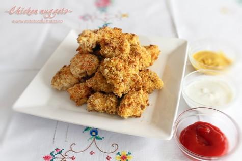 Pernute din piept de pui – chicken nuggets – reteta video