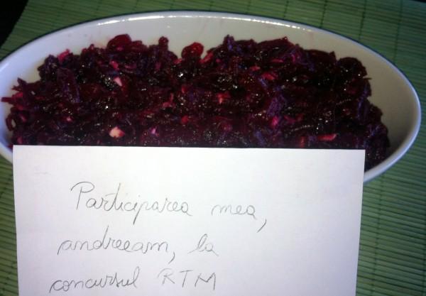 Salata de sfecla rosie by andreeam
