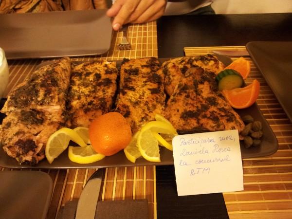Somon in stil mediteranean – o reteta delicioasa by DanaR