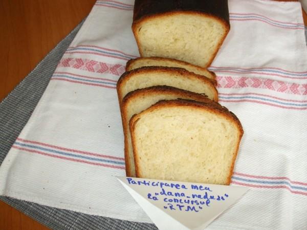 Paine de casa moale pentru sandvisuri by dana_radu23