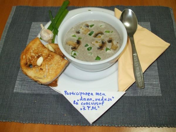 Supa crema de ciuperci by dana_radu23