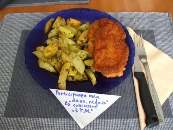 Cartofi condimentati la cuptor by dana_radu23