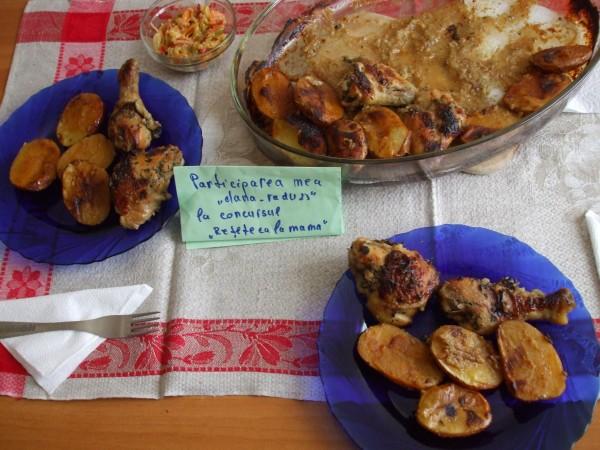 Pui la cuptor, marinat by dana_radu23