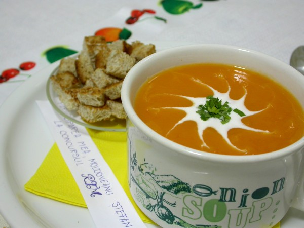 Supa-crema de dovleac by stefanpizza