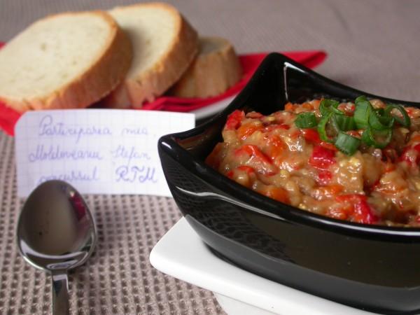 Salata de vinete cu ardei copti by stefanpizza