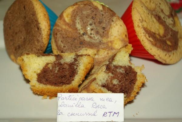 Muffins pufosi – foarte gustosi by DanaR
