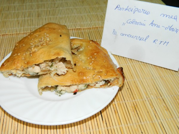 Placinta cu carne de pui by aryana