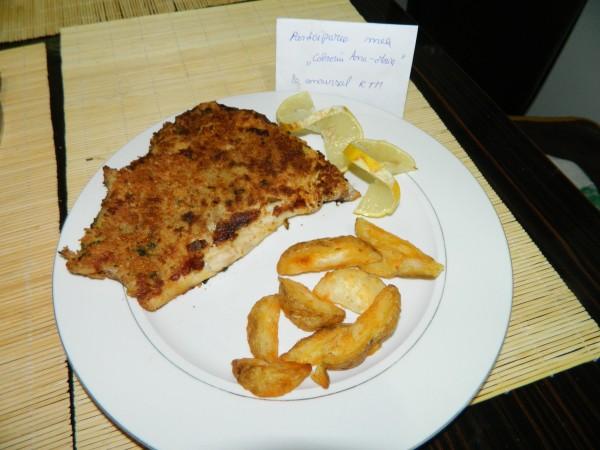 Peste in crusta aromata, la tigaia Dry Cooker by aryana