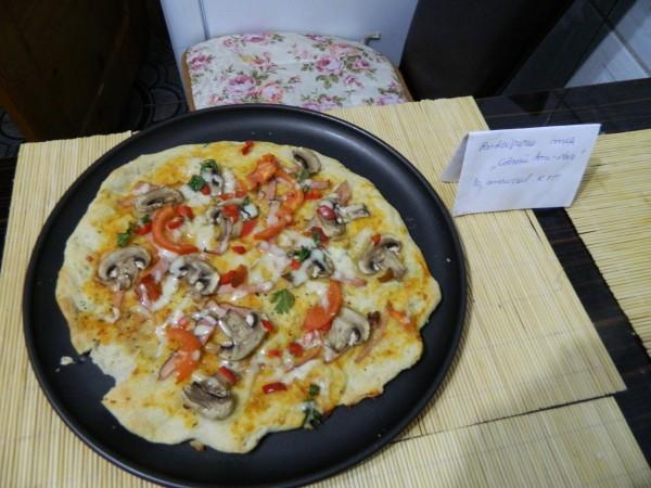 Reteta video: Pizza vegetariana – de post by aryana