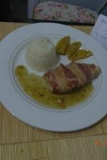 Piept de pui in bacon cu salvie si mar by aryana