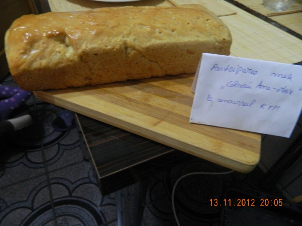 Paine de casa moale pentru sandvisuri by aryana