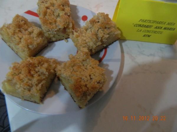 Prajitura cu mere si cocos by aryana