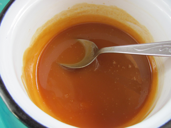 baked alaska caramel