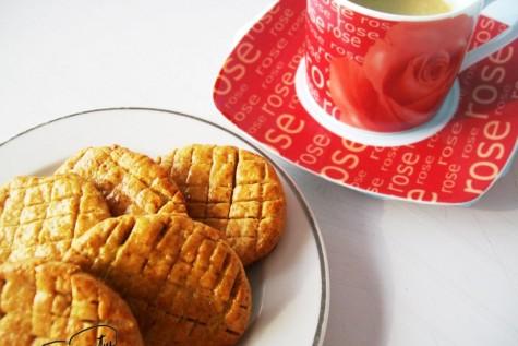 Biscuiti cu ceai negru si lamaie