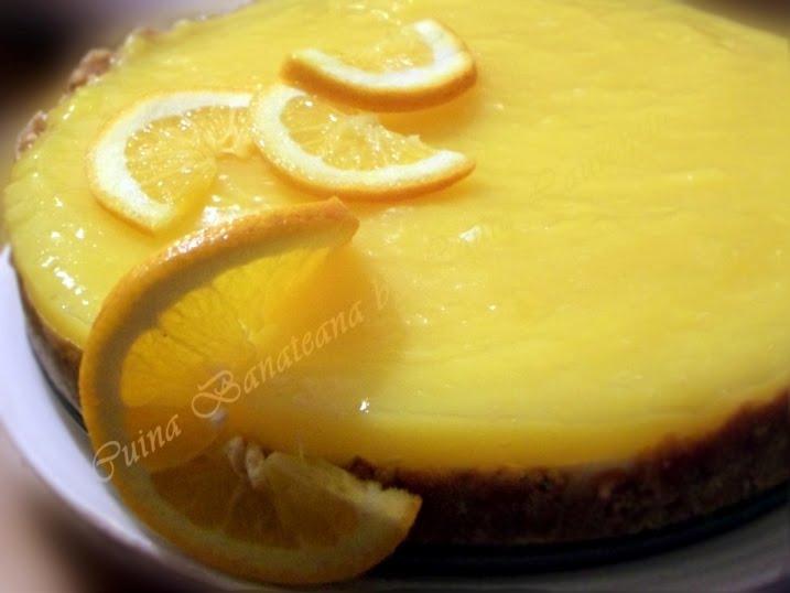 cheesecake cu portocale 8