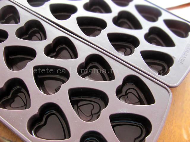 forma praline de ciocolata
