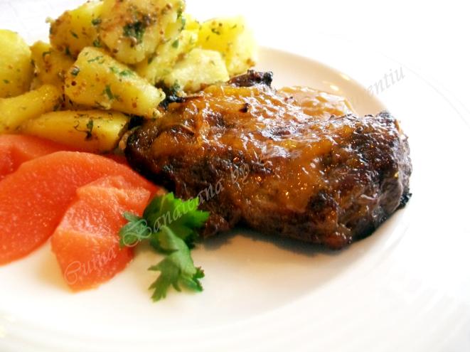friptura de porc cu glazura delicioasa 8