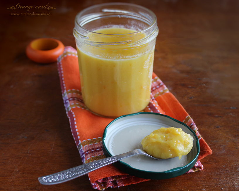 orange curd, reteta de lemon curd sau orange curd