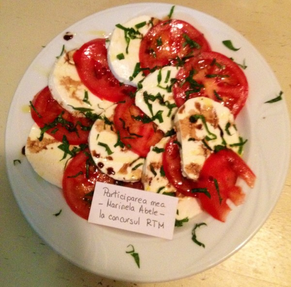 Salata Caprese by Marinela Abele
