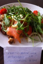 Salata de peste afumat cu rucola by andreeam