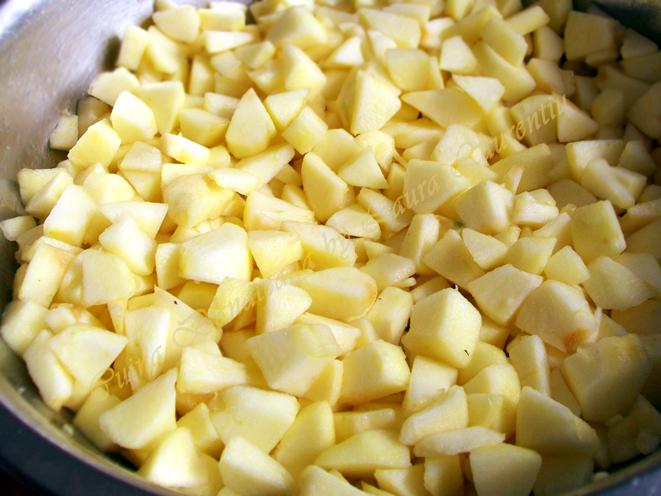 prajitura cu mere si cocos 2