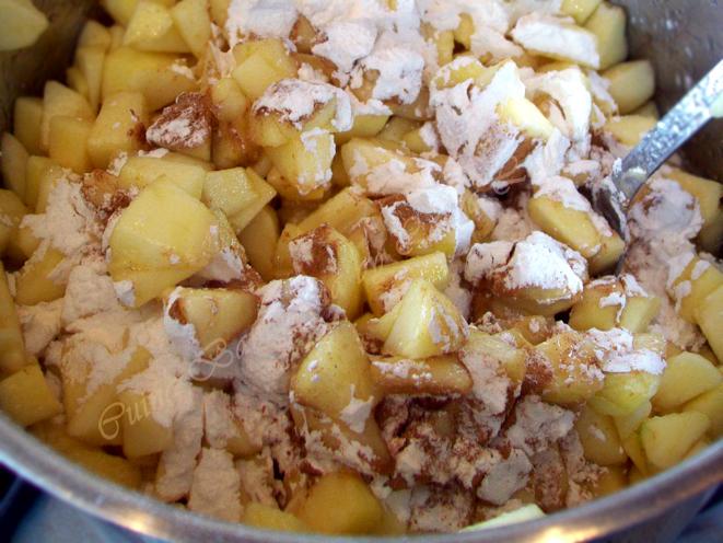 prajitura cu mere si cocos 5