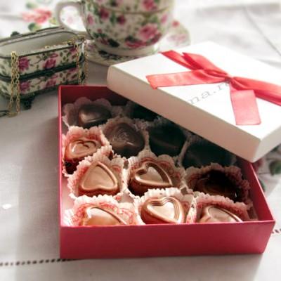 Praline de ciocolata – Would you be my valentine?