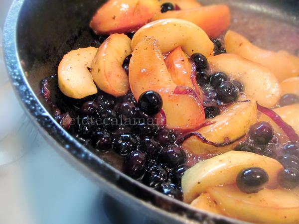 rata fripta cu mere caramelizate 8