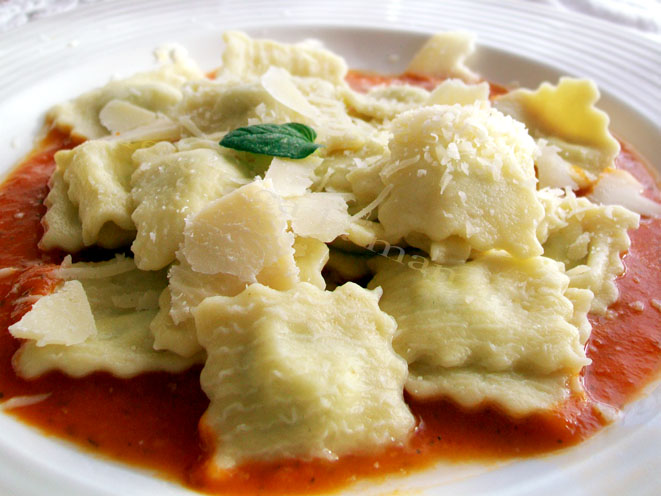 Raviolli facuti in casa