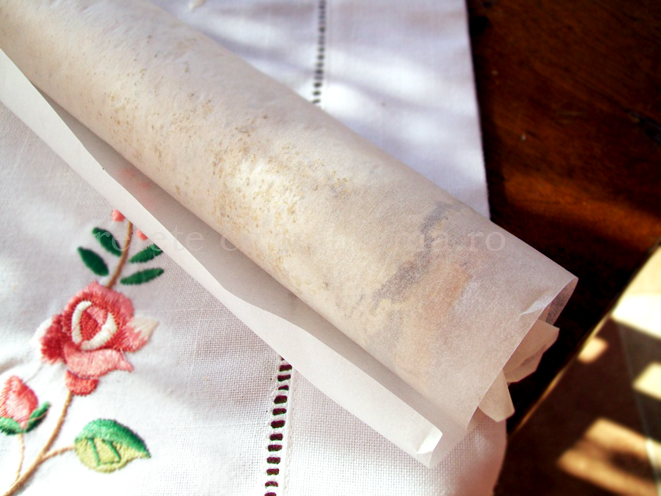 rulada de bezea cu crema de castane 6