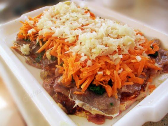rulada de carne cu legume 8