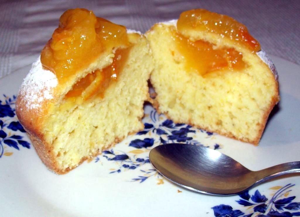 orange muffins muffins cu portocale sectiune
