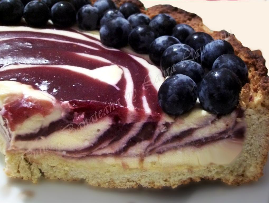 tarta cu must si branza dulce sectiune