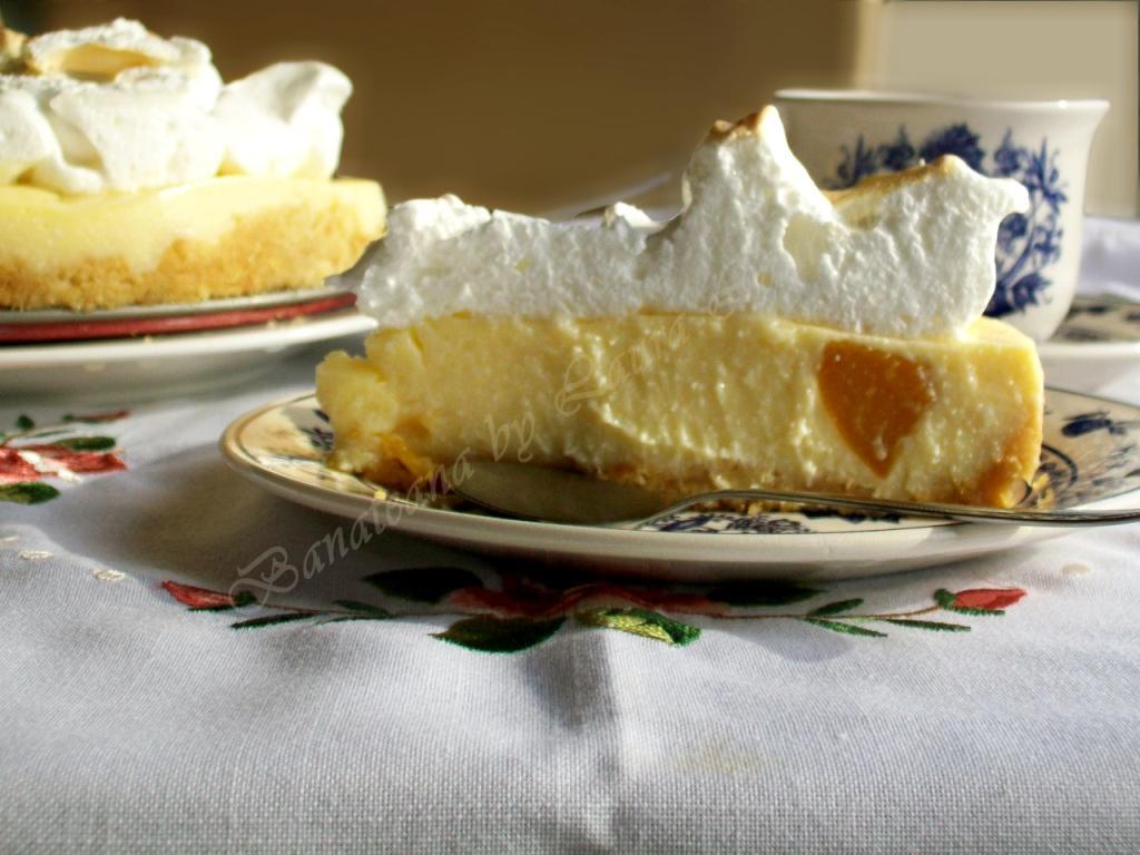 tarta fara coacere cu branza si fructe