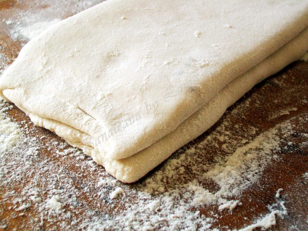 mod de preparare aluat clasic foietaj, pasul 6