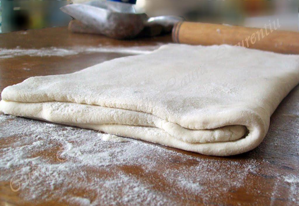 aluat frantuzesc, foietaj clasic, pate feuilletee, mod de preparare 8