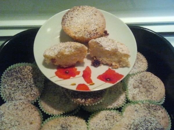 Muffins pufosi – foarte gustosi by mari