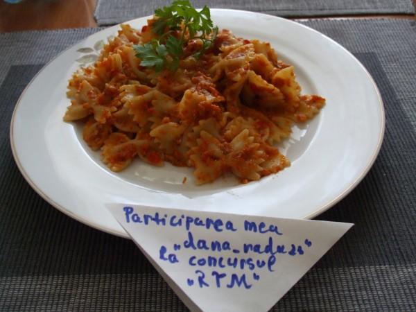 Paste cu sos de peste by dana_radu23