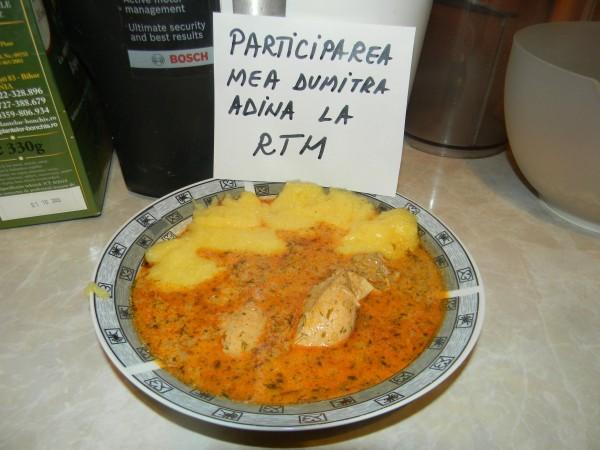 Papricas de pui cu smantana by adinagrig
