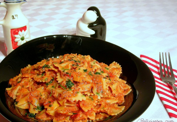 Paste cu sos de peste by stefanpizza