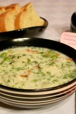 Supa de mazare cu galuste by stefanpizza