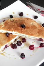 Pancakes – Clatite americane cu mure by stefanpizza