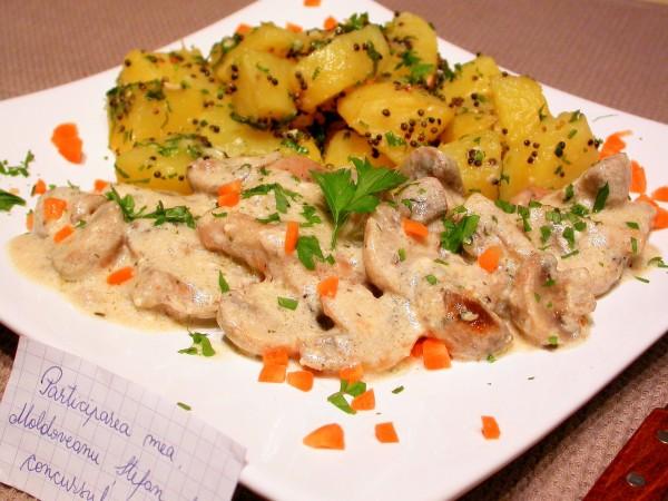 Escalop de porc cu ciuperci by stefanpizza